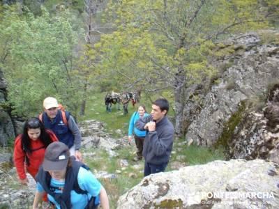 Cascadas del Purgatorio - rutas de senderismo en madrid; rutas trekking madrid; club singles madrid